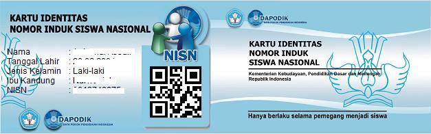 Kartu nisn nomor induk siswa nasional dengan barcode noercholish 10387643102019357561939994223741608848838987n stopboris Choice Image